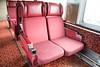 Worn seats in coach 851.