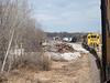 Polar Bear Express coming into Moose River Crossing.