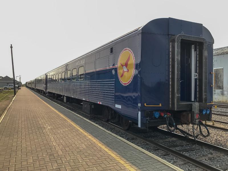 Polar Bear Express train 2018 August 16.