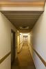 Second floor hallway at Station Inn. New flooring.