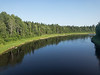 Cheepas River, mileage 162 north of Cochrane.