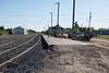 Moosonee station platform repairs.