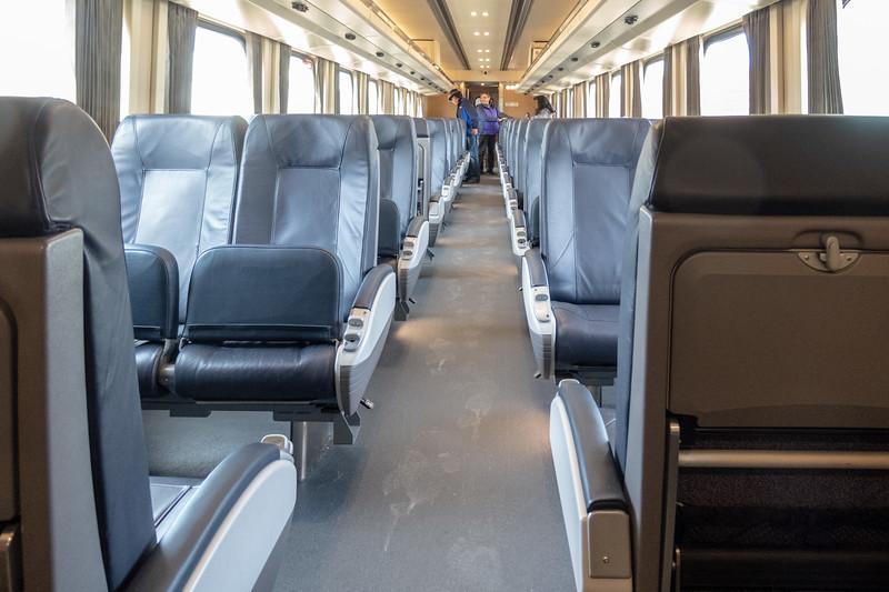 Interior coach 653.