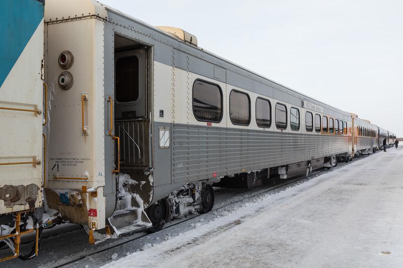 Polar Bear Express passenger consist. First choice is 603.