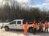 Workers at Moose River Crosssing