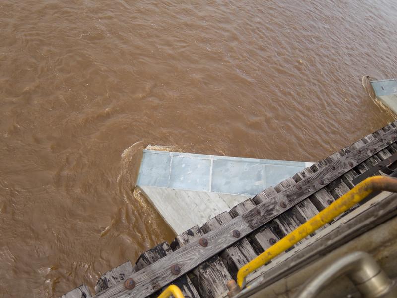 Moose River bridge details