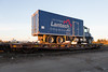 Lantech drilling services truck on flatcar ONT 100313.