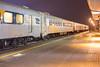 Polar Bear Express coaches in Cochrane.