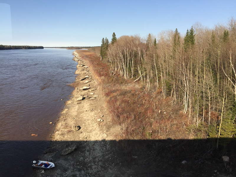 North channel of the Moose River 2016 May 10th.