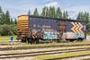 Boxcar ONT 7795 in Moosonee.