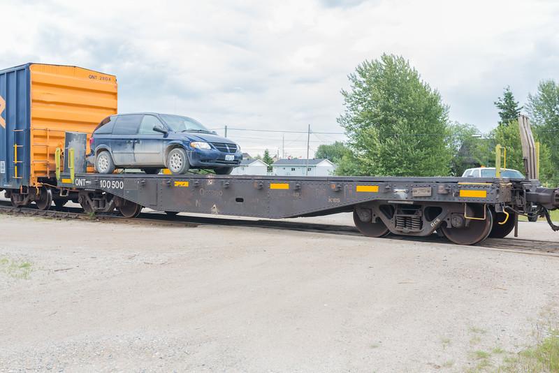 Flatcar 100500.