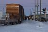 Polar Bear Express in Moosonee station.