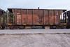 Ontario Northland Railway ballast car 2244 in Moosonee.