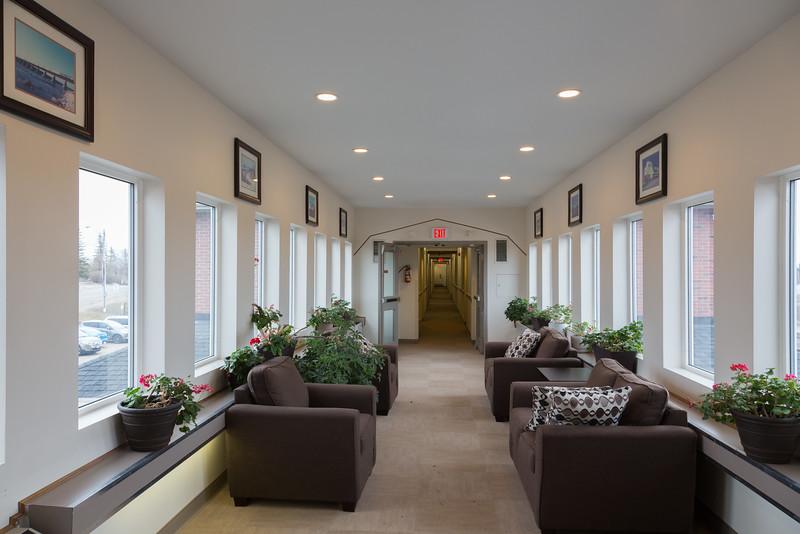 Second floor lounge at Station Inn.