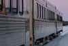 Polar Bear Express in Moosonee station. Last three coaches.