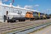 Moosonee station: Non potable water car #4, GP38-2 1806, GP40-2 2202, tank car