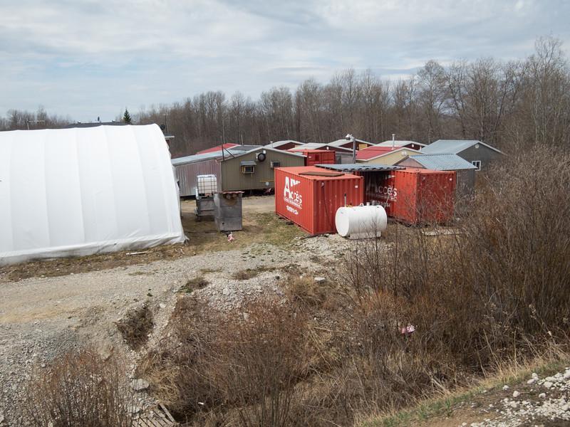 Moose River Crossing work camp