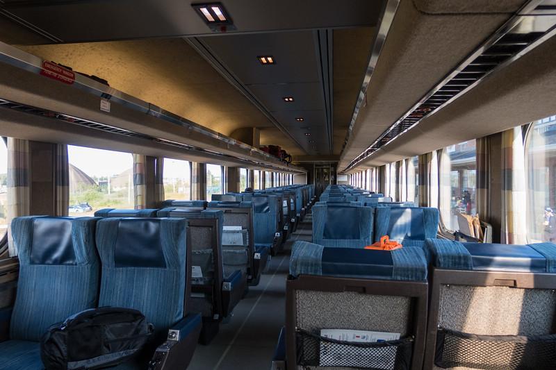 Interior coach 615 in Cochrane.