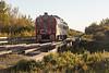Canadian National Railways track inspection vehicle 1501 at Moosonee.