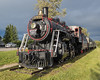 Cochrane Museum train