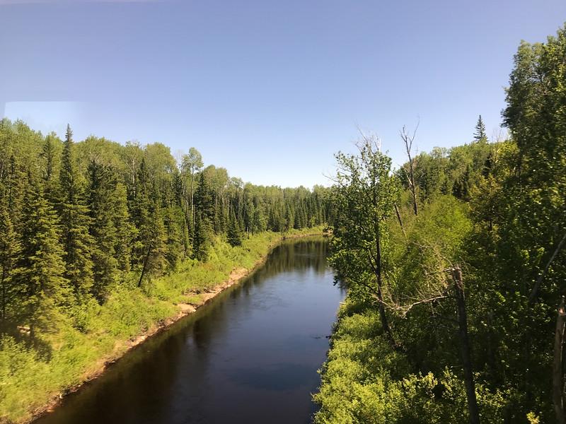 Stream north of Cochrane
