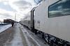 Polar BEar Express passenger consist, coach 852.