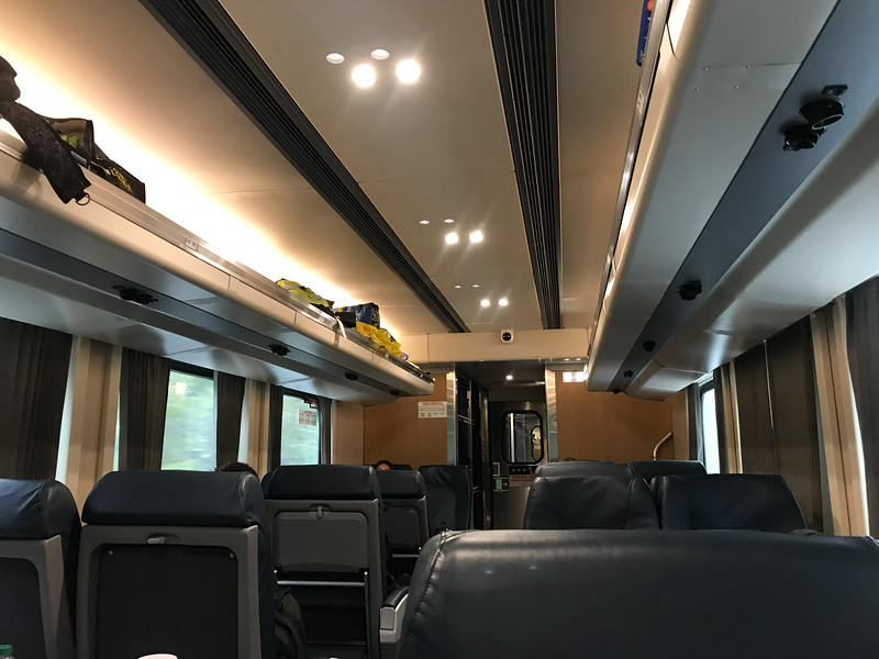 Coach 651 interior