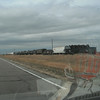 Train along highway 9 (going northwest from Donnelly. MN to Whapeton, ND)  (October 8th 2011)