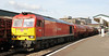 60091 at Newport on Tuesday 20th August 2013 with Theale to Robeston empty tanks