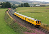 37424 on rear of test train at Gleneagles on Friday 8th August 2014
