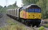 47727 Rebecca with Washwood Heath to Boston Docks empty steel at  Water Orton on Monday 11th August 2014