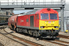 60040 runs through Newport on Tuesday 12th August with empty tanks