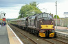 37516 Loch Laidon runs solo through Dyce with Royal Scotsman on Monday 4th August 2014