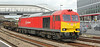 60020 at Newport on Tuesday 12th August with a Llanwern to Margam empty steel train