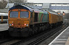 66720 on rear of 57s at Hither Green on 3rd January 2014
