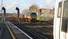 66849 at Tonbridge on 2nd January 2014
