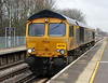 66746 at Hither Green on 3rd January 2014