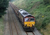 6K11 66116 sits in Lunan Viaduct Possession on Sunday 5th August 2012