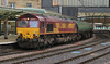 66051 with second run of Dalston tanks Carlisle Friday 17 August 2012