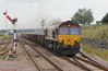 6K11 66116 thunders through Laurencekirk after turning in Aberdeen on Sunday 5th August 2012