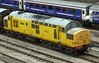 97304 John Tilley sits in Clayhills Yard Aberdeen on 8th August 2012