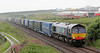 4A13 Grangemouth to Craiginches containers at Altens on Saturday 7th July 2012