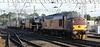37516 Loch Laidon leads 45407 as 45110 and 44871 into Carlisle on Sunday 28th July 2013