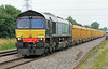 66429 from Mountsorrel North Staffs Junction on Friday 18th July 2014