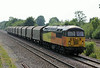 56094 with empty steel wagons to Boston at North Staffs Junction on Friday 18th July 2014