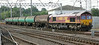 66082 with Dalston tanks at Carlisle on 17th July 2014