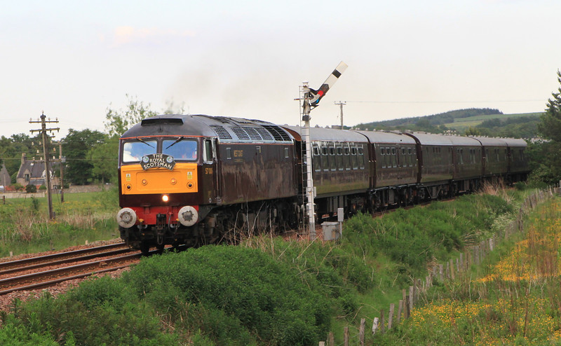 Royal Scotsman at Insch 3rd June 2011
