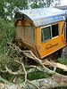 Cab of derailed 66734