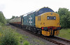 37175 leaves Kinneil Halt on 1st June 2013