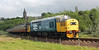 37175 approaches Kinneil Halt on 1st June 2013